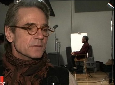 Theatre Mania interviews with the cast of 'Impressionism' - Jeremy Irons