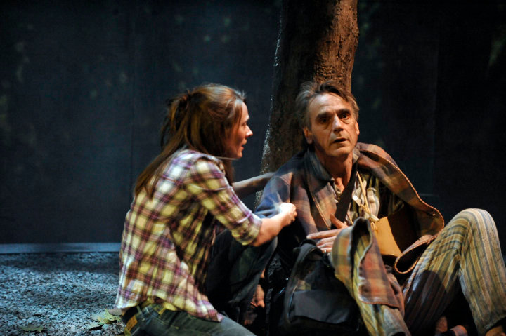 Jeremy Irons and Joanna Horton in 'The Gods Weep'