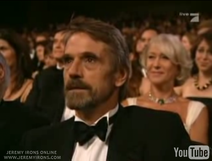 Jeremy Irons at the Emmy Awards
