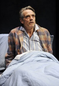 Jeremy Irons in 'The Gods Weep'