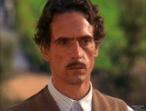 "Jeremy Irons in ""The House of the Spirits"""
