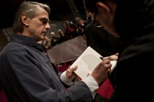 Jeremy Irons attends the opening of Nobu Restaurant in Budapest, Hungary