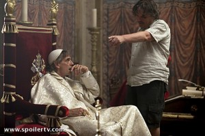 "Jeremy Irons in ""The Borgias"" - set photos"