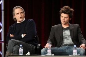 Jeremy Irons at the 2011 Winter TCA Tour - The Borgias
