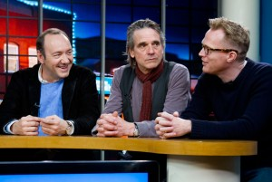Kevin Spacey, Jeremy Irons and Paul Bettany - Margin Call Interview at Sundance