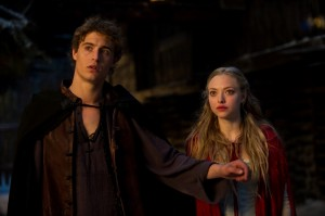 "Max Irons and Amanda Seyfried in ""Red Riding Hood"""
