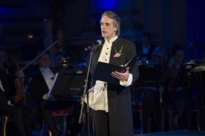 Jeremy Irons Performs at The Prince's Trust Foundation for Children and the Arts Gala Dinner