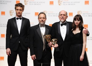 Max Irons at the Orange British Academy of Film and Television Arts Awards 2011