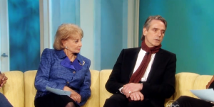 Full Episode of Jeremy Irons on The View