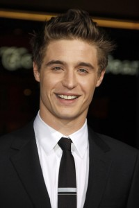 Max Irons attends the premiere of 'Red Riding Hood'
