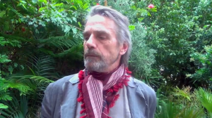 Jeremy Irons is interviewed by the HFPA for The Borgias