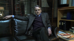 Jeremy Irons interview on Law and Order: SVU Behind-the-Scenes