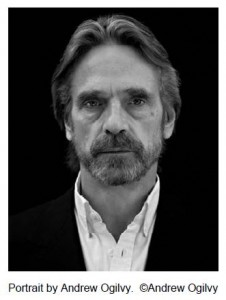 Jeremy Irons Portrait by Andrew Ogivly