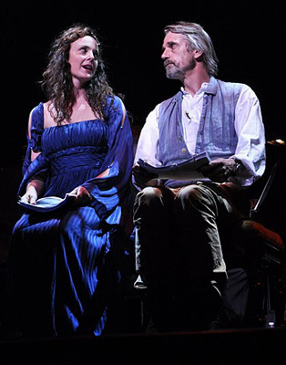 Jeremy Irons and Melissa Errico in Camelot 2011