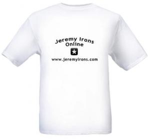 Jeremy Irons Online t-shirt