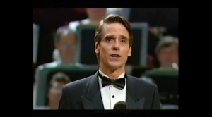 Jeremy Irons Sings at Night at the Proms - a Noel Coward Tribute