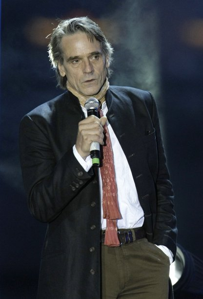 Jeremy Irons attends the Federation charity in Moscow, Russia