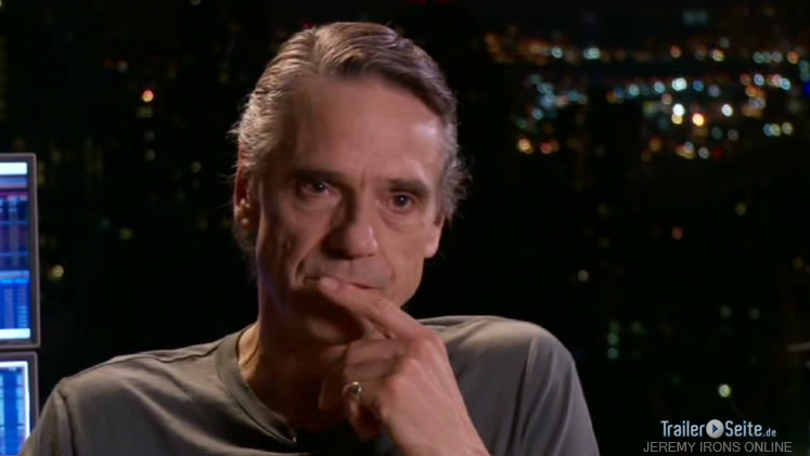 Jeremy Irons - German Interview on the set of Margin Call - Screen Captures