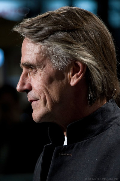 Jeremy Irons on the Green Carpet for the Swiss premiere of 'Margin Call' at the Zurich Film Festival