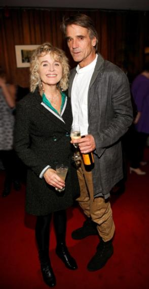 Jeremy Irons and Sinéad Cusack - Opening Night of 'Juno and the Paycock' at the Abbey Theatre