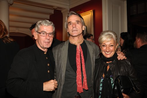 Jeremy Irons attends the 'Carnage' opening at the New York Film Festival