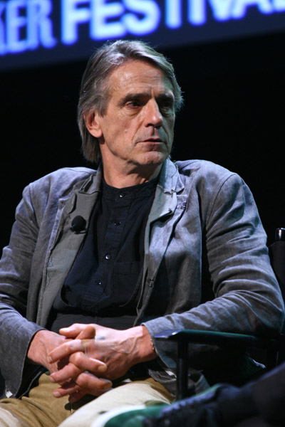 Jeremy Irons attends The New Yorker: Bravura Television Conversation - Oct 1, 2011