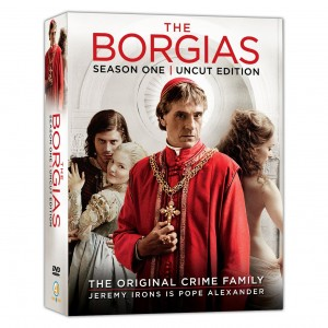 The Borgias Complete First Season Uncut Canadian DVD
