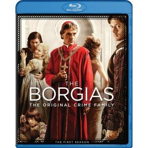 The Borgias First Season Blu-ray