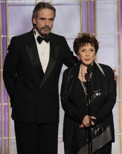Jeremy Irons at the 69th Annual Golden Globe Awards in Beverly Hills, CA