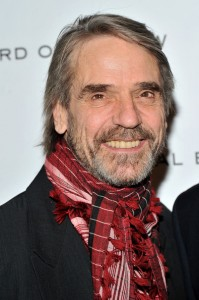 Jeremy Irons attends the National Board of Review Awards Gala in NYC