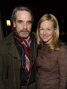 Jeremy Irons attends Showtime's Golden Globe Nominees Cocktail Reception