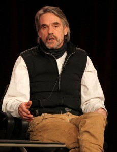 Photos of Jeremy Irons at the TCA Showtime Session: The Borgias panel