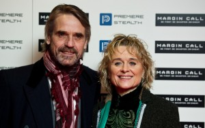 Jeremy Irons and Sinéad Cusack attend the Margin Call UK Premiere