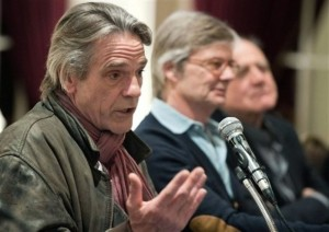 Jeremy Irons at the Press Conference and Photocall for Night Train to Lisbon in Bern, Switzerland