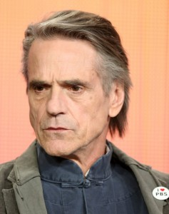 Jeremy Irons at the 2013 Winter TCA Press Tour for PBS